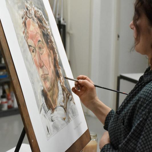 schilderen schilderijen paintings cursus lessons painting lessons schildercursus hendrik van leeuwen